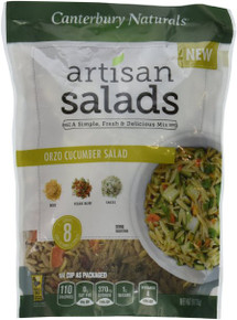 Orzo Cucumber Salad 6 of 9 OZ By CANTERBURY NATURALS