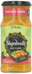Cooking Sauce Thai Red Curry 6 of 14.1 OZ By SHARWOOD