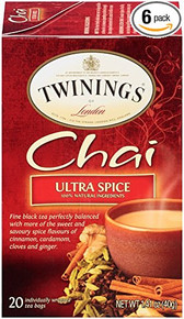 Chai Ultra Spice 6 of 20 BAG By TWININGS