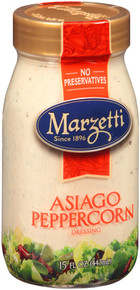 Asiago Peppercorn 6 of 15 OZ From MARZETTI