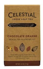 Loose Leaf Chocolate Orange 6 of 4 OZ By CELESTIAL SEASONINGS