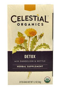 Detox 6 of 20 BAG By CELESTIAL SEASONINGS