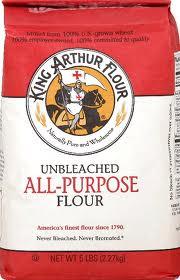 All Purpose Unbleached 8 of 5 lb King Arthur Flour