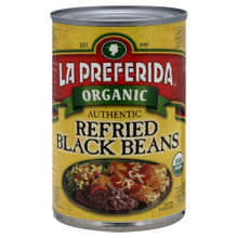 Authentic Refried Black 12 of 15 OZ From LA PREFERIDA