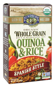 Quinoa & Rice Spanish Style 6 of 6 OZ From LUNDBERG FAMILY FARMS