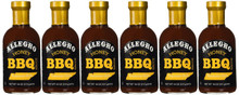 BBQ Sauce Honey 6 of 18 OZ By ALLEGRO