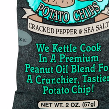 Cracked Pepper Sea Salt 10 of 2.625 OZ By DIRTY POTATO CHIPS