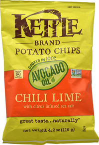 Avocado Oil Chili Lime 15 of 4.2 OZ By KETTLE BRAND