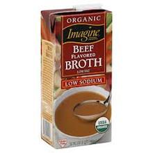 Beef Broth 12 of 32 OZ Imagine Foods