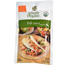 Fish Taco Seasoning 24 Pack 1.13 oz (32 g) Each From Simply Organic