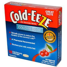 Cherry Lozenge 6 of 18 CT COLDEEZE