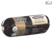 Ground Turkey Chub 10 of 12 OZ Organic Prairie