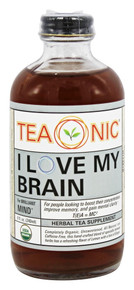 I Love My Brain 12 of 8 OZ By TEAONIC