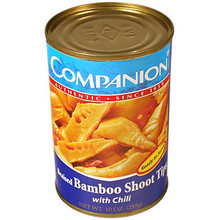 Bamboo Shoot Tips w/ Chili 10 oz  From Companion