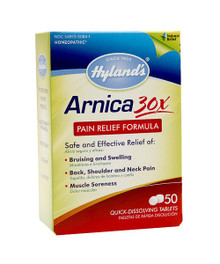 Arnica 30X 50 TAB By HYLANDS HOMEOPATHIC REMEDIES