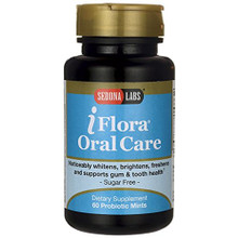 iFlora Oral Care Probiotic Mints 60 CT By SEDONA LABS