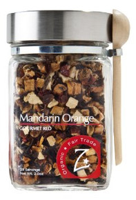 Mandarin Orange Glass Jar 4 of 2 OZ By ZHENA`S GYPSY TEA