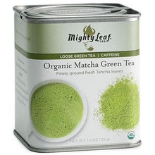 Loose Green Matcha 6 of 1.5 OZ By MIGHTY LEAF TEA