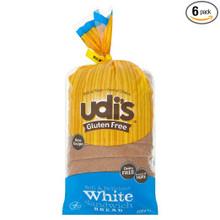 Bread Whole Grain 6 of 24 OZ By UDI`S GLUTEN FREE