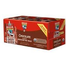 Low Fat 1% DHA Omega3, Chocolate, 3 of 6 of 8 OZ, Horizon
