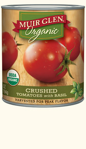Crushed Tomatoes w/Basil 6 of 23 OZ By MUIR GLEN
