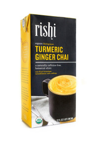 Concentrate,Tumeric Ginger Chai 12 of 32 OZ By RISHI TEA