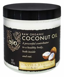 Extra Virgin Coconut Oil 6 of 16 OZ By OJIO