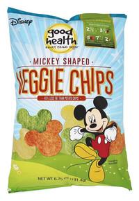 Disney Mickey Mouse Veggie Chps 10 of 6.75 OZ By GOOD HEALTH
