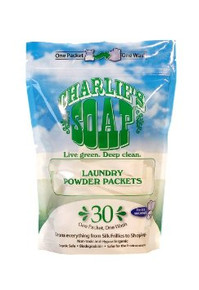 Laundry Powder Packet 30 CT 6 of 30 CT By CHARLIES SOAP