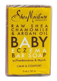 Raw Shea Butter Eczema Soap 5 OZ Shea Moisture