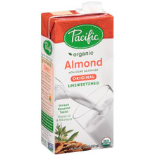 Almond, Original, Unsweetened, 12 of 32 OZ, Pacific Natural Foods
