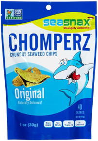 Chomperz Sea Salt 8 of 1 OZ From SEASNAX