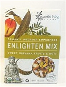 Enlighten Trail Mix 6 of 8 OZ From ESSENTIAL LIVING FOODS