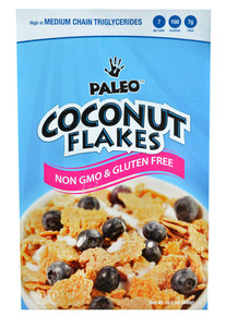 Cereal,Paleo Coconut Flakes 12 of 10.5 OZ From JULIAN BAKERY