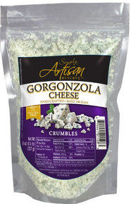 Gorgonzola Cheese Crumbles 12 of 4 OZ From SIMPLY ARTISAN RESERVE