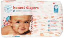 Diapers Giraffes Size 1S 44 CT By THE HONEST CO