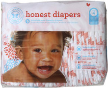 Diapers Giraffes Size 4L 29 CT By THE HONEST CO