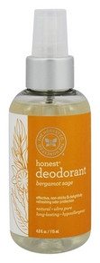 Deoderant Bergamont Sage 4 OZ By THE HONEST CO