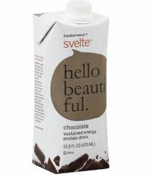 Hello Beautiful, Chocolate, 12 of 15.9 OZ, Svelte