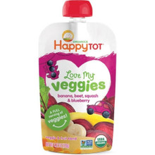 Banana Beet Squash Blueberry 16 of 4.22 OZ By HAPPY TOTS
