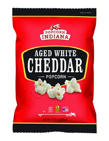 Aged White Cheddar 12 of 5.75 OZ By POPCORN INDIANA