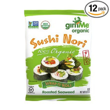 Sushi Nori 10 Sheets 12 of .81 OZ By GIMME