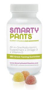 Adult Multivitamin/Omega 3/Vit D 180 CT Smarty Pants