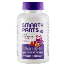 Adlt Cmplte & Fiber,MltiVitamin 120 CT By SMARTY PANTS