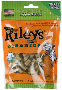 Apple Small Bone 5 of 5 OZ By RILEYS ORGANICS