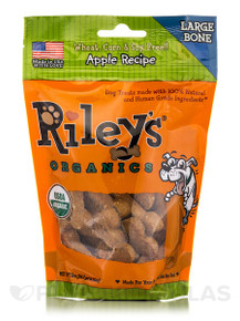 Apple Large Bone 5 of 5 OZ By RILEYS ORGANICS