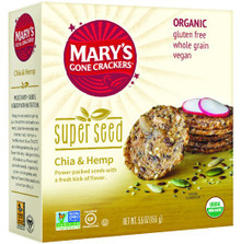 Chia & Hemp 6 of 5.5 OZ By MARY`S GONE CRACKERS