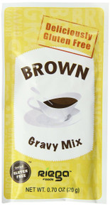 Brown Gravy Mix 8 of .7 OZ From RIEGA FOODS