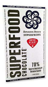 Amazon Berry Superfruits 12 of 1.75 OZ By SUPERFOOD CHOCOLATE