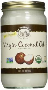 Coconut Unrefined Virgin 6 of 30 OZ By LA TOURANGELLE